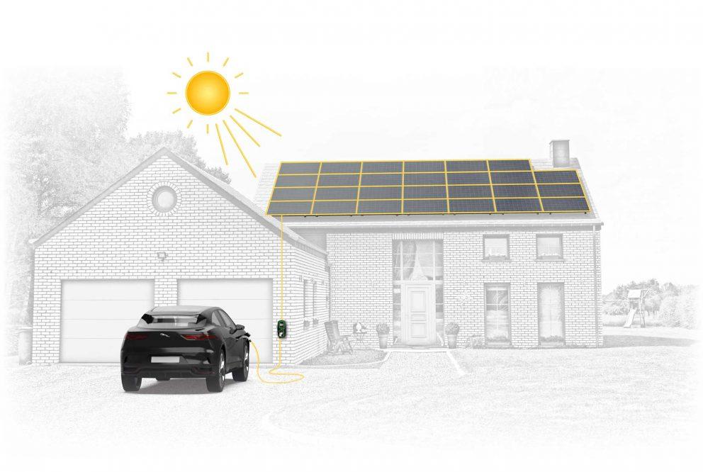 EV Solar Charge Jaguar