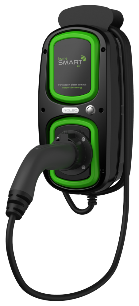 Rolec WallPod HomeSmart EV charging point