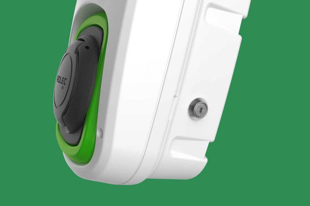 WallPod EV Type-2 Socket with Keyswitch