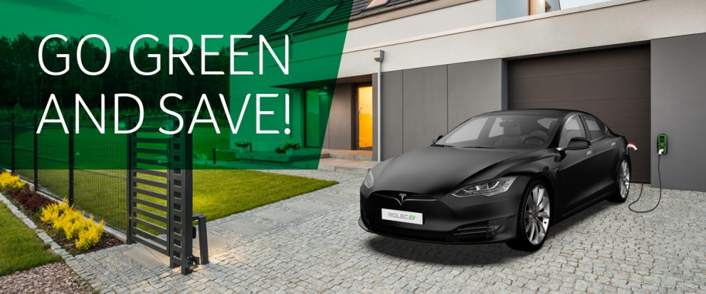 Go green and save WallPod EV Type-2 Socket HomeSmart Charging Point Tesla