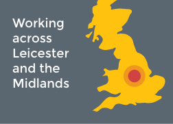 Working across Leicester and the Midlands